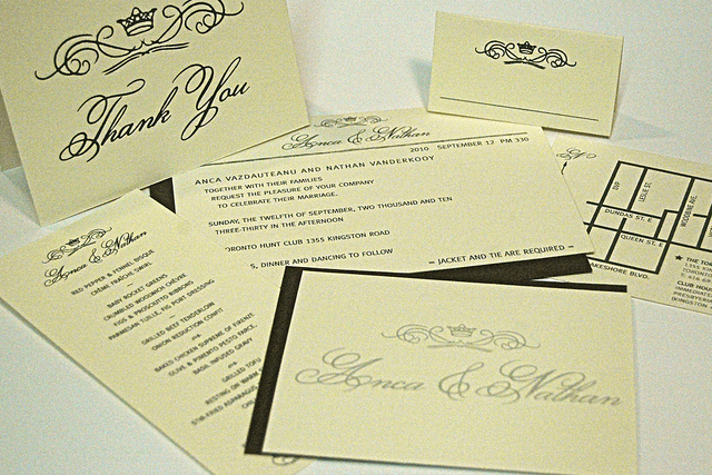 Wedding design printing services kid icarus invitation rsvp map menu table card and thank you card solutioingenieria Image collections