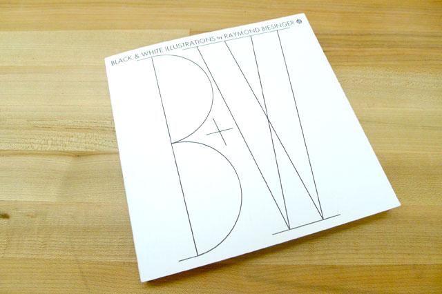 Raymond Biesinger Black and White Book