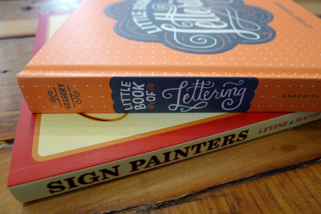 Sign Painters and Little Book of Lettering at Kid Icarus