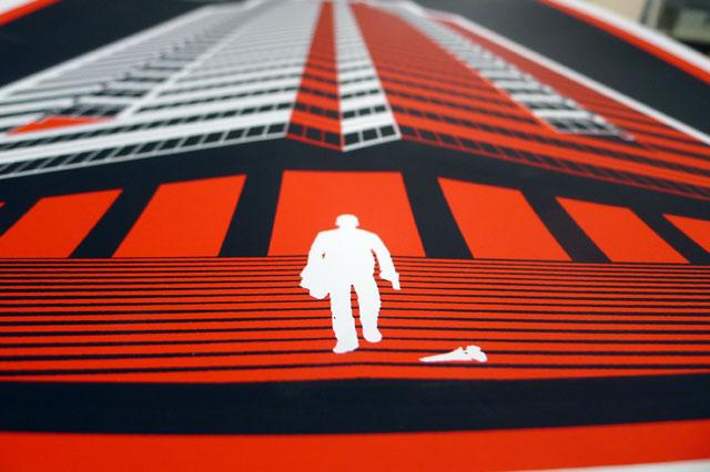 Die Hard Posters by Ron Guyatt