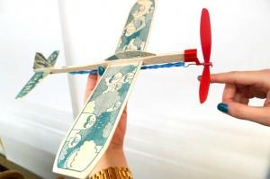 DIY Plane Kits at Kid Icarus