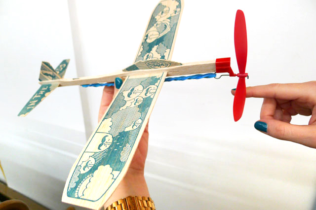 DIY Plane Kits at Kid Icarus