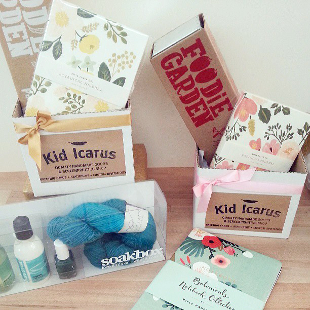 Mother's Day gift sets at Kid Icarus