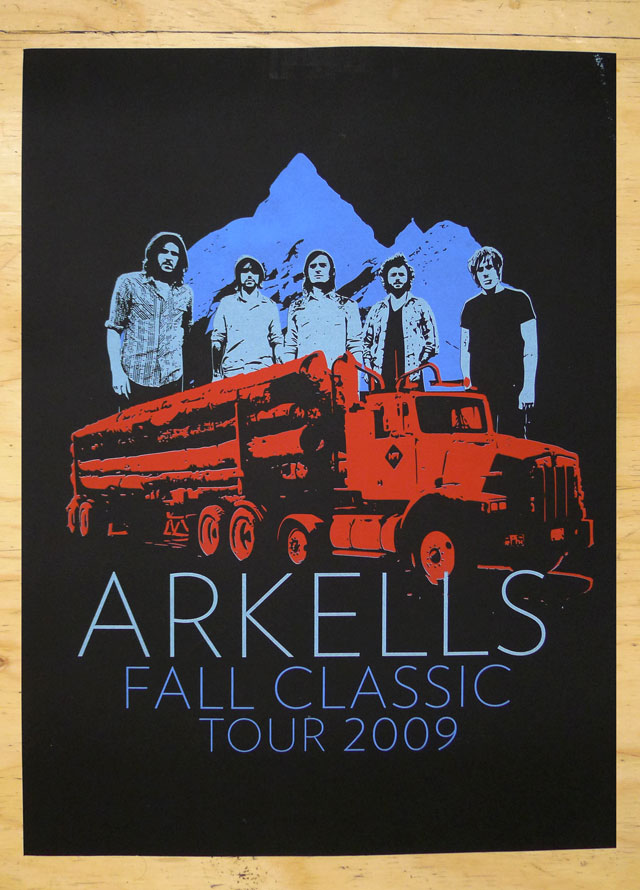 Arkells Fall Tour Poster