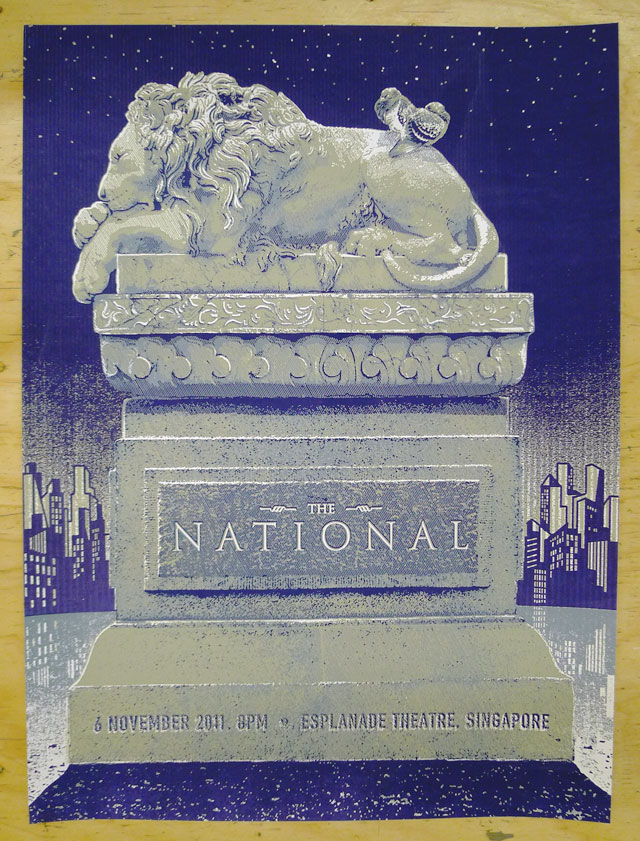 The National Gig Poster