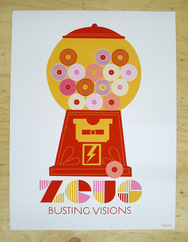 Zeus: Busting Visions Posters