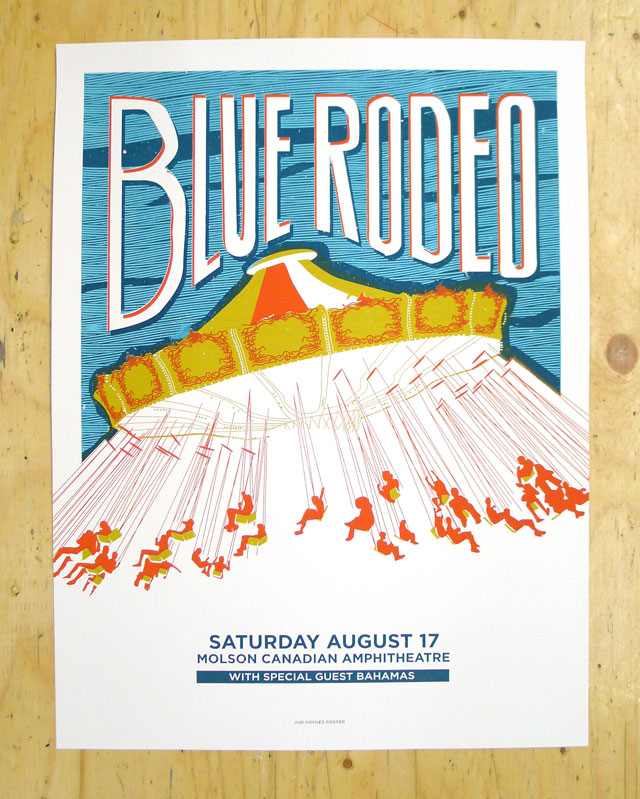 Blue Rodeo Poster