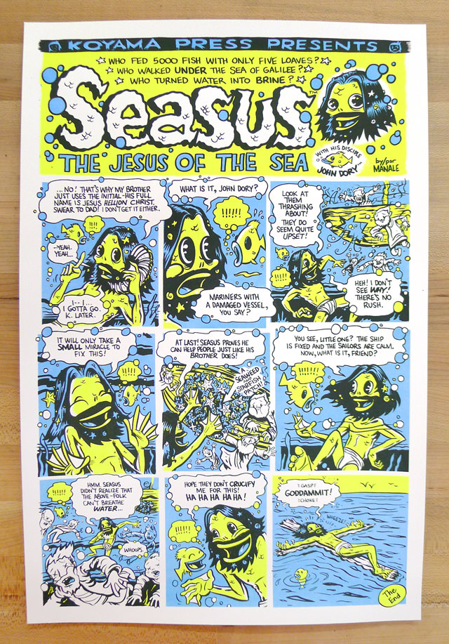 Seasus Art Print By Steve Manale