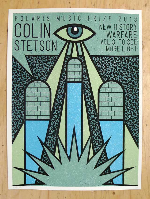 Polaris Music Prize 2013: Colin Stetson