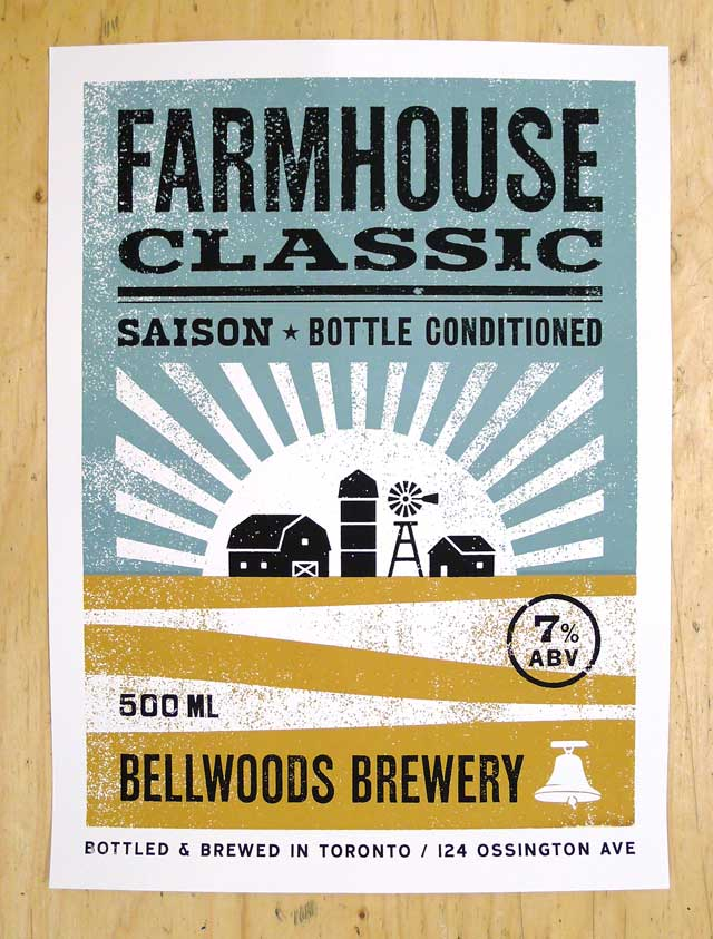 New Posters for Bellwoods Brewery