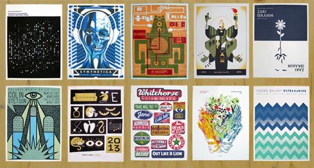 Freshly Printed: 2013 Polaris Prize Posters