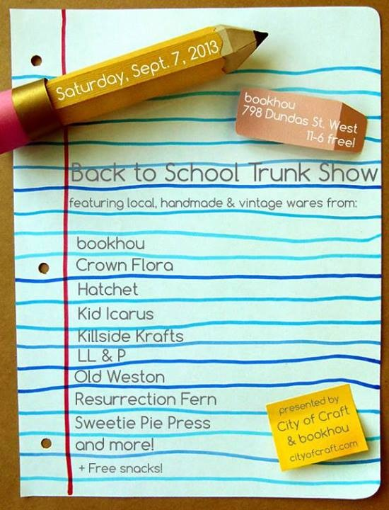 Back to School Trunk Show