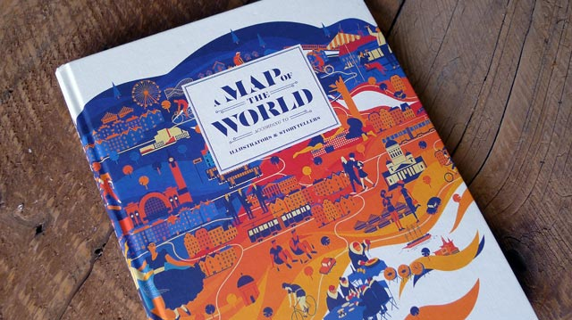 A Map Of The World According To Illustrators And Storytellers.A Map Of The World According To Illustrators And Storytellers Kid