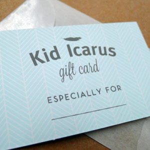 Kid Icarus Gift card