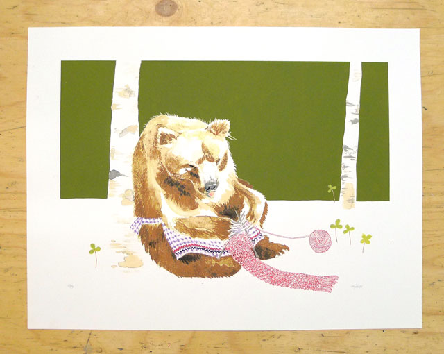 Melinda Josie: Like a Bear Knitting