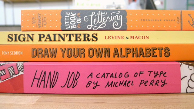 more great lettering books