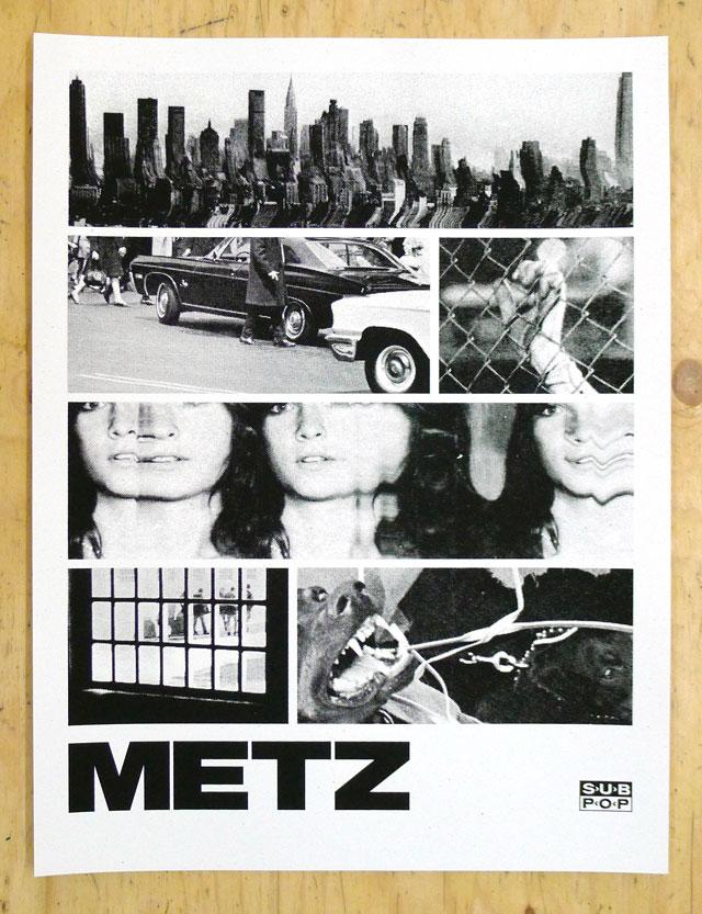 METZ European tour poster