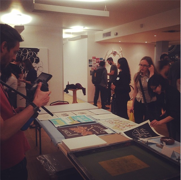 Screen Printing Live at the Bēhance Portfolio Review Week