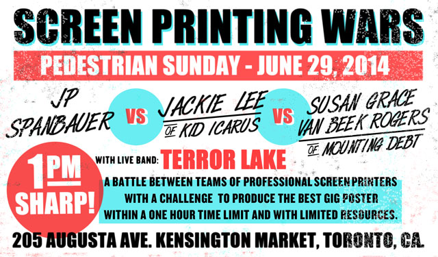 Screen Printing Wars -its back!