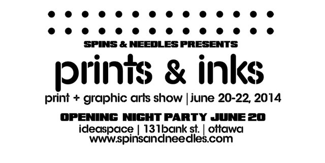 Upcoming Event: Prints and Inks 2014