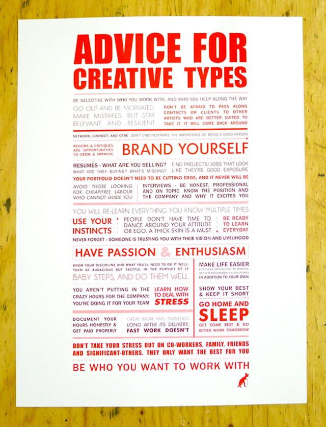 Hey Creative Types!