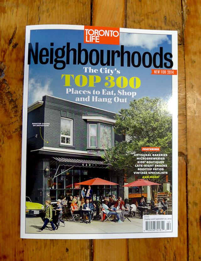We're in Toronto Life magazine!