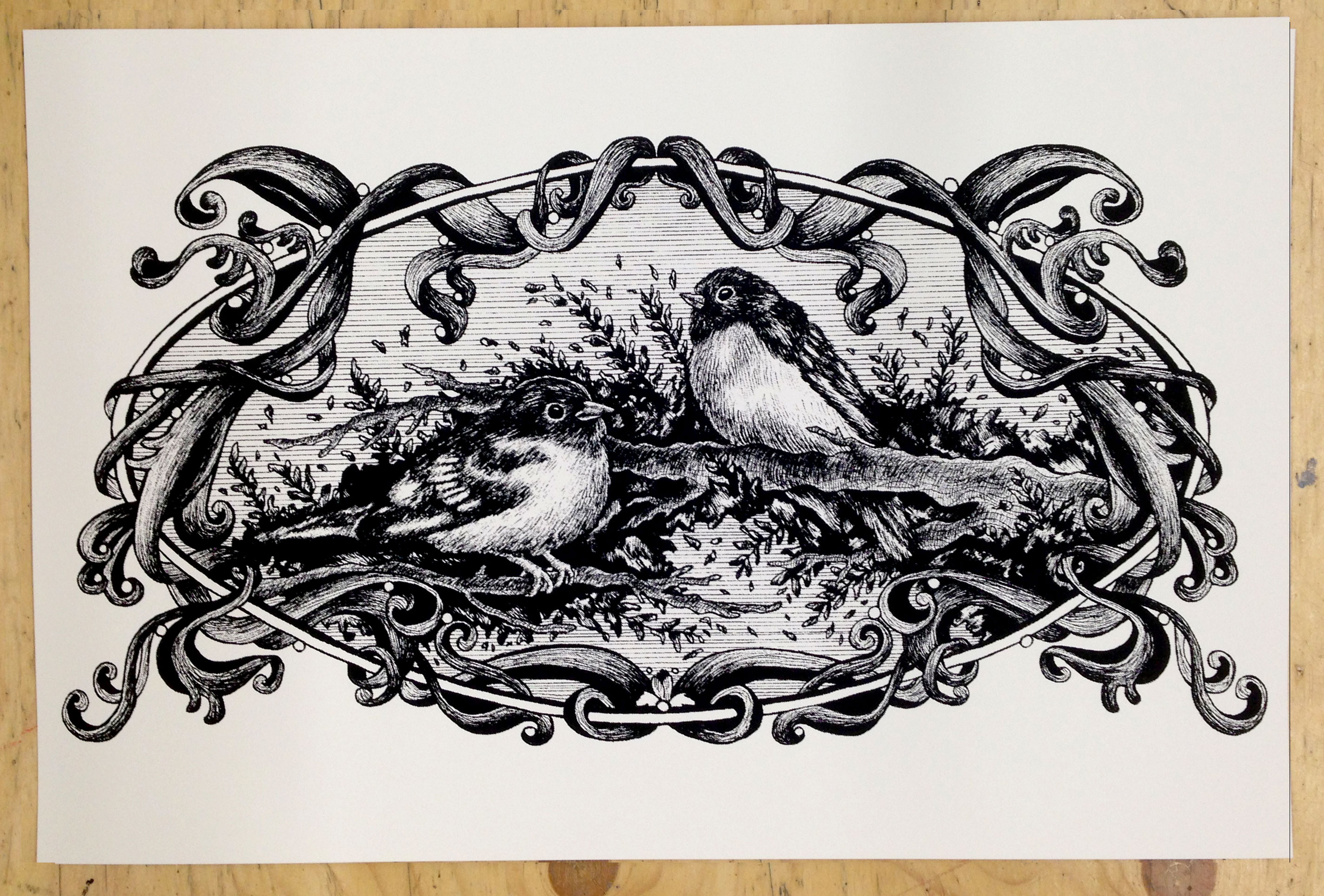 New prints from Jessica Hrycyk