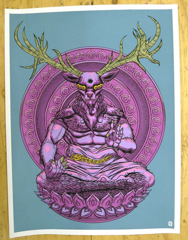 Dicky Sireger's Demonic New Print