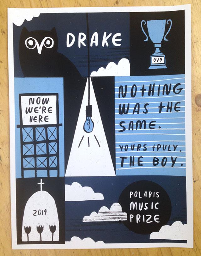 Polaris Music Prize 2014: Drake