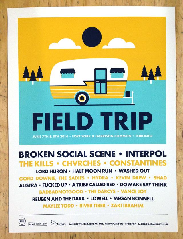Field Trip 2014 Poster