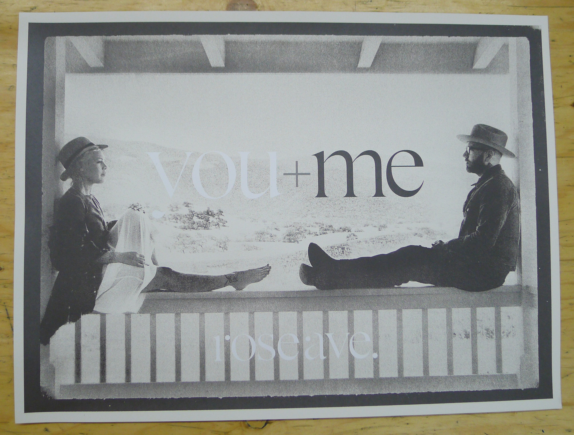 You + Me: Rose Ave. Poster