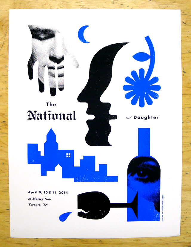 The National w/ Daughter @ Massey Hall 2014