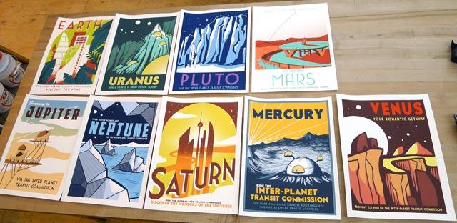 Intergalactic Planetary Printing