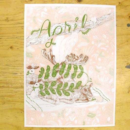 KI Calendar: April