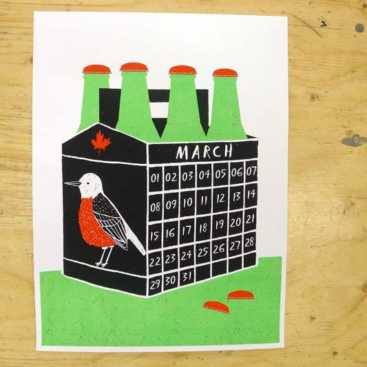 KI Calendar: March