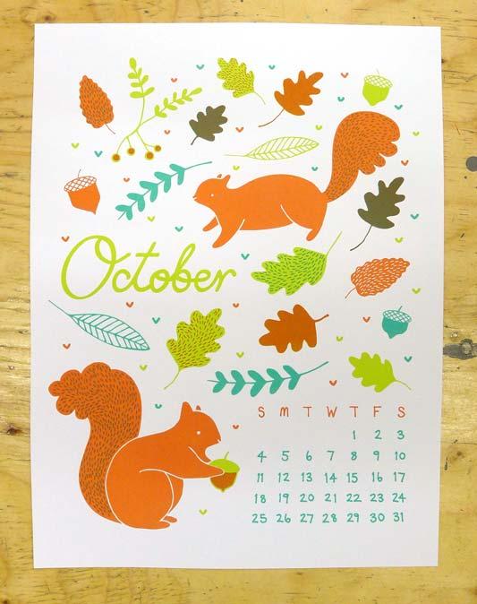 KI Calendar: October
