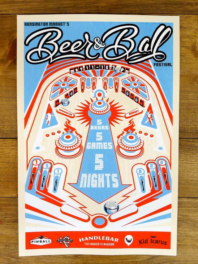 Beer & Ball @ Handlebar