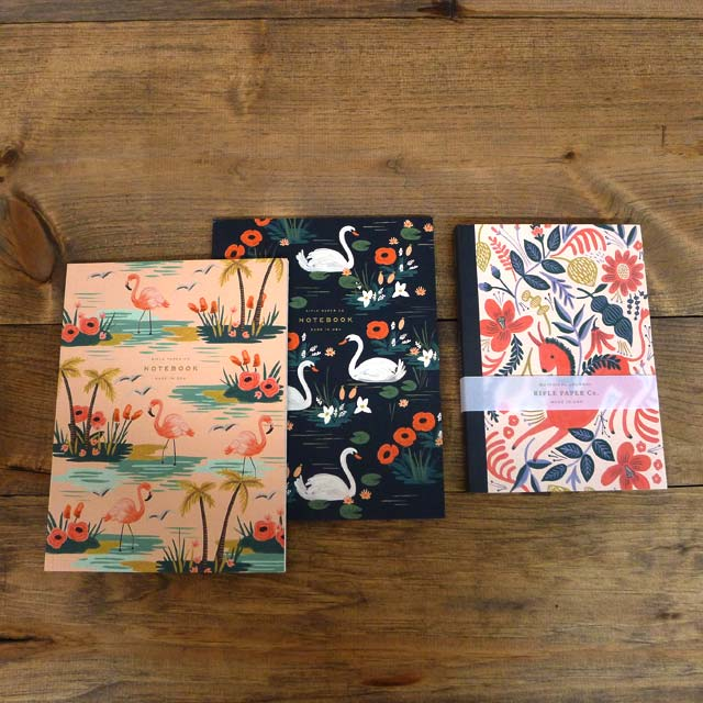 This just in… New notebooks from Rifle Paper Co.!