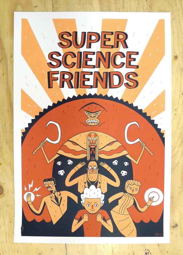 Super Science Friends – Brett Jubinville