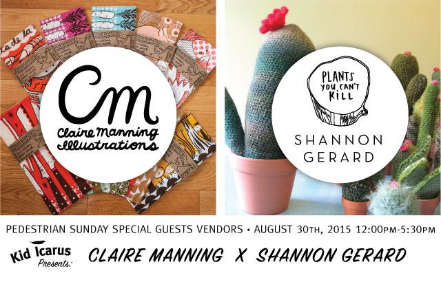 Claire Manning + Shannon Gerard Pedestrian Sunday