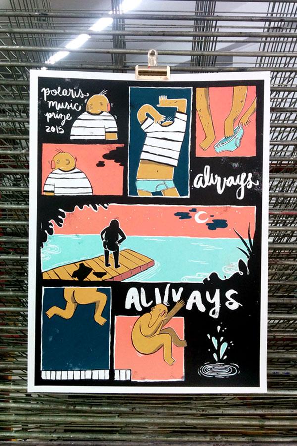 Polaris Music Prize 2015: Alvvays
