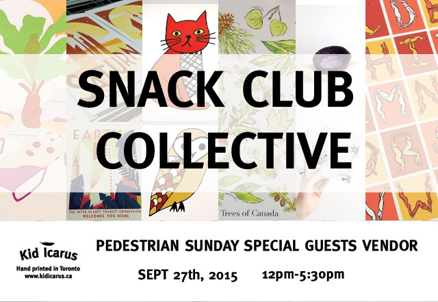 Snack Club Collective Pedestrian Sunday