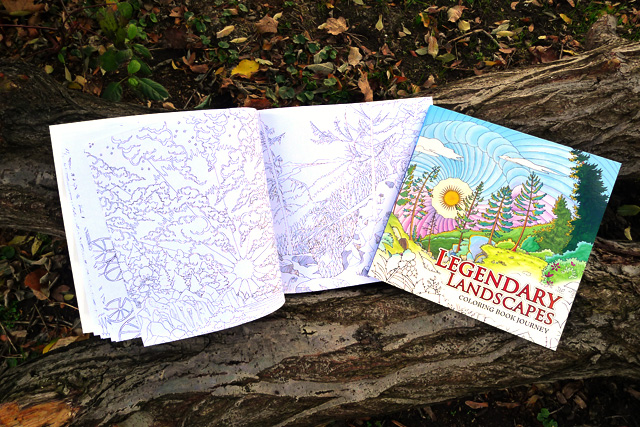 Legendary Landscapes Is A Brand New Colouring Book Featuring 85 Beautifully Illustrated Pages Of Real And Imaginary Cityscapes