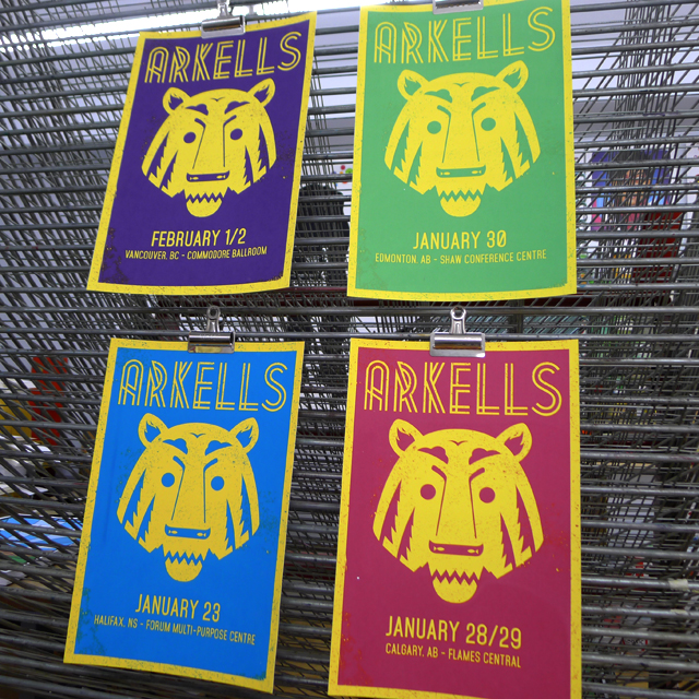 Prints for The Arkells