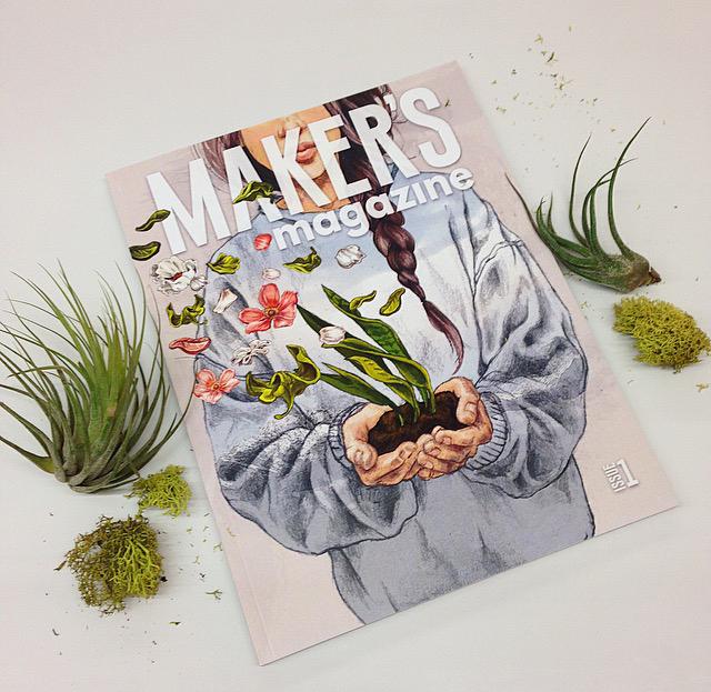 New in Kensington – Maker's Magazine!