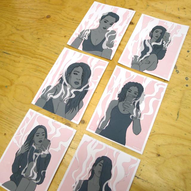 New Prints from Sam Johnstone