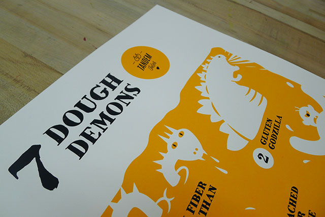 7 Dough Demons Poster Prints!