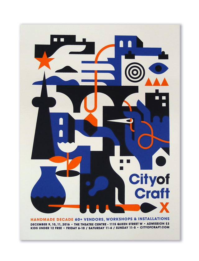 City of Craft 2016 Posters!