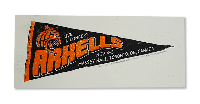 Posters for The Arkells