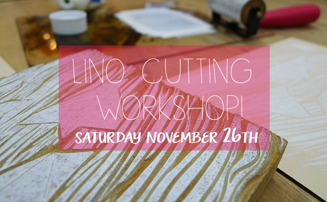 Learn to Lino Cut With Kid Icarus!